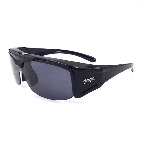 J1316-Over specs sunglasses, fit over and clip on polarized sunglasses
